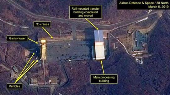 CSIS: Không có hoạt động đáng kể tại cơ sở phóng tên lửa Sohae