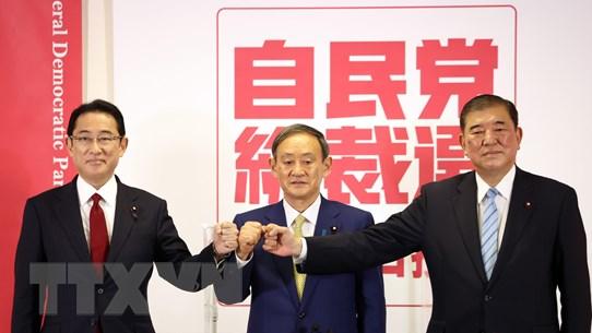 Nhật Bản: Các ứng cử viên công bố cương lĩnh tranh cử Chủ tịch LDP