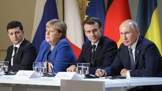 """""""Bộ Tứ Normandy"""" cam kết đưa ra các giải pháp vào cuối tháng 9"""