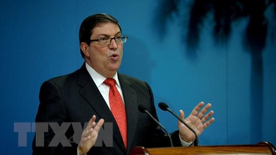 """Cuba lên án Mỹ đưa La Habana vào """"danh sách quốc gia tài trợ khủng bố"""""""