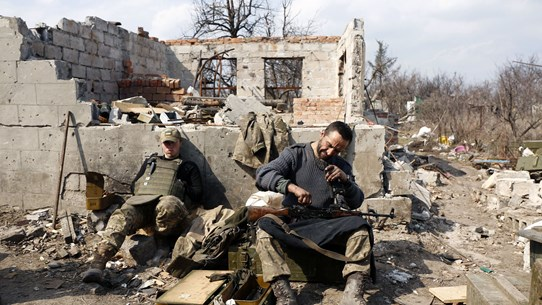 Các bên ở Đông Ukraine không đạt được ngừng bắn trong dịp Lễ Phục sinh