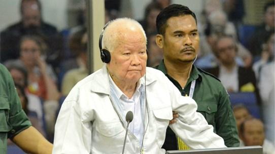 ECCC tiến hành xử phúc thẩm cựu thủ lĩnh Khmer Đỏ Khieu Samphan