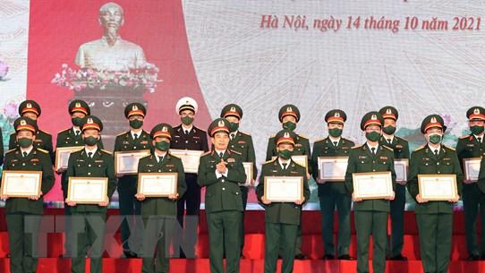 Vinh danh các tập thể, cá nhân xuất sắc tham gia Army Games 2021