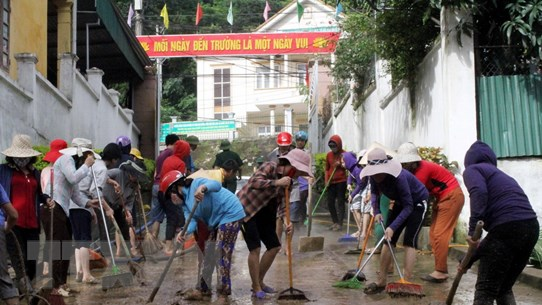 Nghệ An đề nghị hỗ trợ khẩn cấp để khắc phục hậu quả mưa lũ