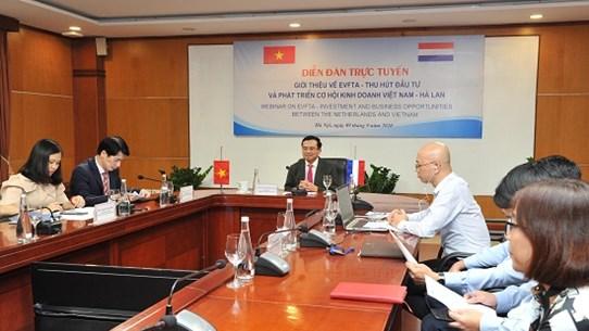 Cơ hội thu hút đầu tư và phát triển kinh doanh Việt Nam-Hà Lan