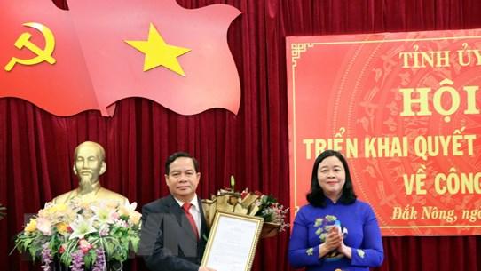 Điều động, phân công ông Điểu K'Ré làm Phó Bí thư Tỉnh ủy Đắk Nông