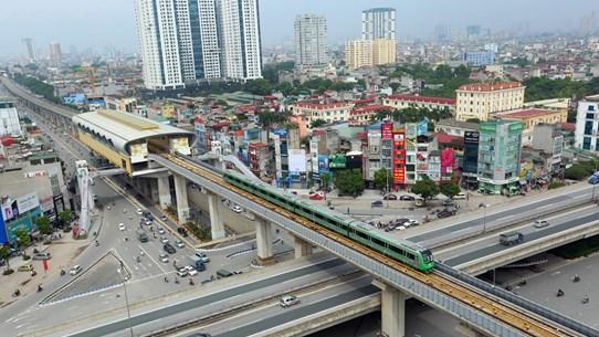Ấn định thời gian 'về đích' của dự án đường sắt Cát Linh-Hà Đông