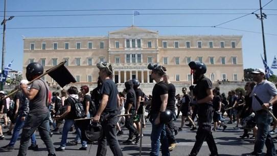 Đình công trên khắp Hy Lạp phản đối dự luật cải cách lao động