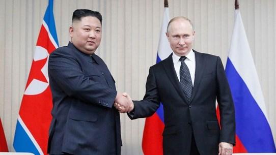Triều Tiên phát hành tem kỷ niệm cuộc gặp thượng đỉnh Triều-Nga