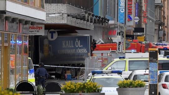 Bắt giữ nghi phạm thứ hai trong vụ tấn công khủng bố ở Thụy Điển