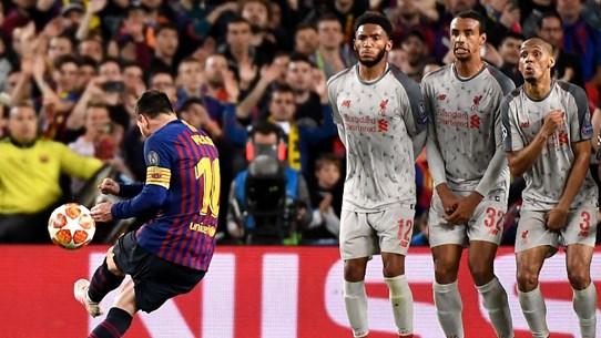 Lionel Messi giành giải Bàn thắng đẹp nhất Champions League