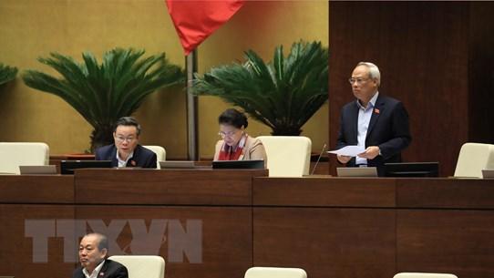 Ngày làm việc thứ sáu của Kỳ họp thứ 10, Quốc hội khóa XIV