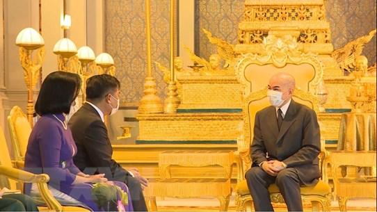 Quan hệ hợp tác toàn diện Việt Nam-Campuchia không ngừng phát triển