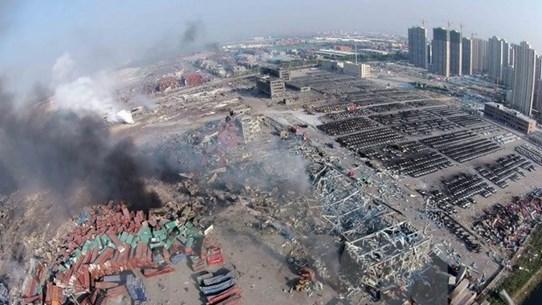 Trung Quốc đề nghị xử phạt 123 người liên quan vụ nổ Thiên Tân