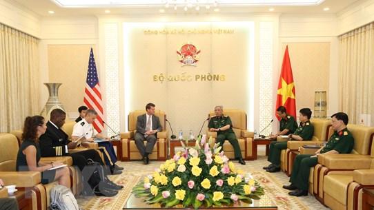 Thúc đẩy quan hệ hợp tác quốc phòng song phương Việt Nam-Hoa Kỳ