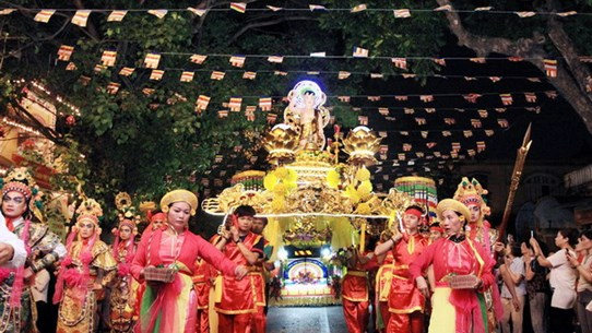 [Photo] Lễ rước và cầu nguyện mừng thành công Đại lễ Vesak