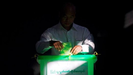 Hơn 900.000 cử tri Myanmar bắt đầu đi bầu cử quốc hội bổ sung