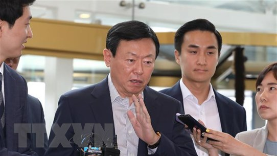 Tòa án tối cao Hàn Quốc giữ nguyên phán quyết đối với Chủ tịch Lotte