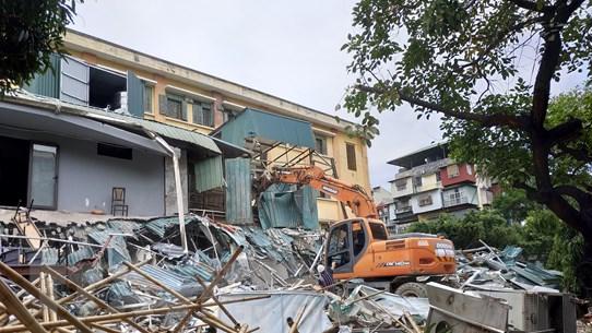 Hà Nội lần đầu công khai các trường hợp vi phạm trật tự xây dựng