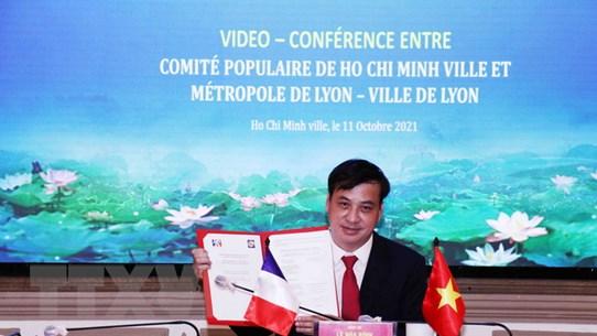 Thành phố Hồ Chí Minh tăng cường hợp tác cùng thành phố Lyon