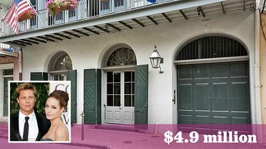 Bộ đôi Brangelina bán nhà 4,9 triệu USD để hoàn tất vụ ly dị