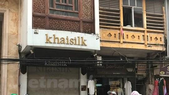Khởi tố vụ Khaisilk bán hàng Trung Quốc gắn mác Made in Vietnam