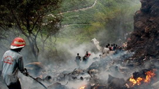 Pakistan tìm thấy hộp đen của chiếc máy bay rơi