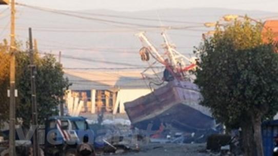 Lại xảy ra động đất mạnh ở Chile và Tây Ban Nha