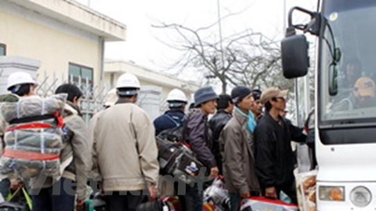 Chung tay giúp đỡ người lao động trở về từ Libya