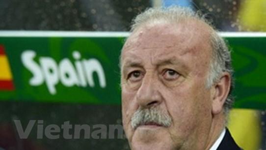 Del Bosque tin thần may mắn sát cánh cùng Brazil