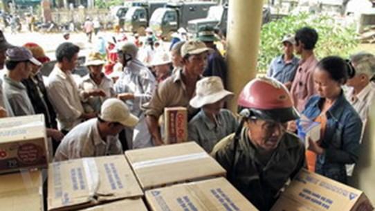 Nhiều tổ chức, quốc gia hỗ trợ nạn nhân bão số 9
