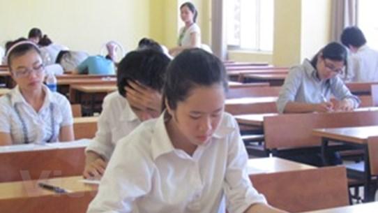 Điểm thi đại học của các trường tốp trên vẫn cao