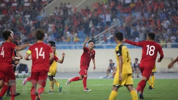 Thắng đậm U23 Brunei 6-0, U23 Việt Nam chiếm ngôi đầu bảng
