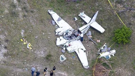 Mỹ: 6 người thiệt mạng trong vụ rơi máy bay ở bang Texas