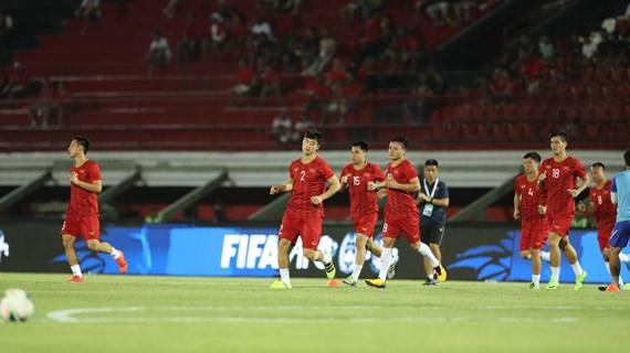 Trực tiếp trận Indonesia-Việt Nam 0-0: Việt Nam chơi ép sân