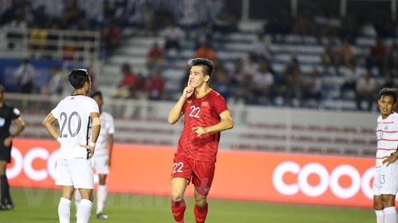 U22 Việt Nam-U22 Campuchia 3-0: Hà Đức Chinh lập cú đúp