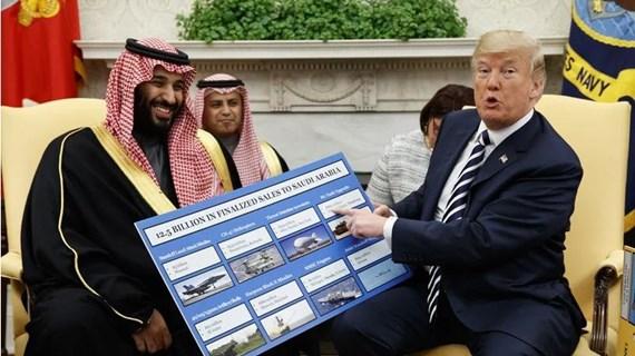 Thượng viện Mỹ ngăn cản thương vụ bán vũ khí cho Saudi Arabia và UAE
