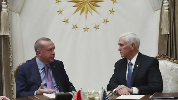 Mỹ, Thổ Nhĩ Kỳ đạt thỏa thuận về tạm ngừng bắn tại Syria