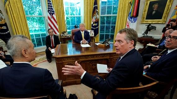 Mỹ đạt thỏa thuận thương mại có giới hạn với Trung Quốc