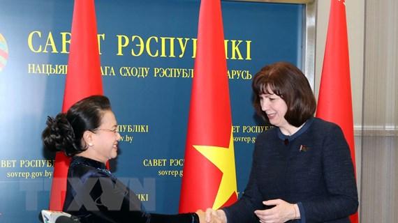 Việt Nam-Belarus: Tăng cường quan hệ hữu nghị, hợp tác nhiều mặt