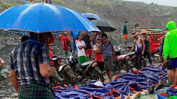 Việt Nam chia sẻ khó khăn với Myanmar sau vụ sạt lở nghiêm trọng