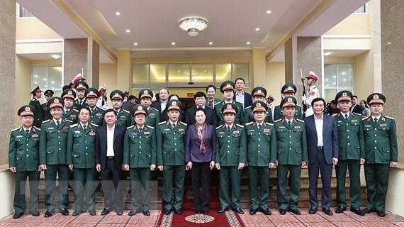 Chủ tịch Quốc hội biểu dương Quân khu 4 lan tỏa hình ảnh Bộ đội Cụ Hồ