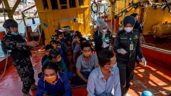 Đại sứ quán Việt Nam tiếp xúc lãnh sự với ngư dân bị Indonesia bắt giữ