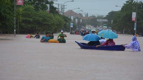Miền Trung Lào hứng chịu đợt ngập lụt nghiêm trọng nhất trong 42 năm