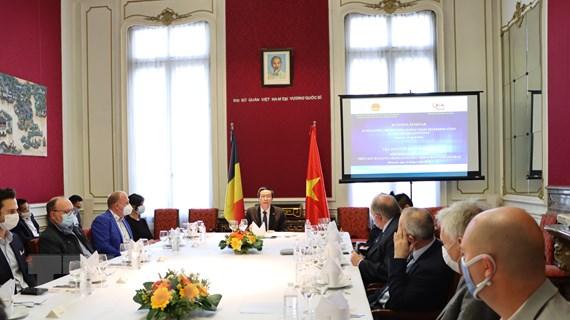 Doanh nghiệp Bỉ mong muốn tăng cường đầu tư vào thị trường Việt Nam