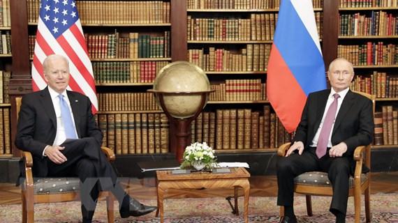 Tổng thống Putin-Biden bắt đầu hội nghị thượng đỉnh tại Thụy Sĩ