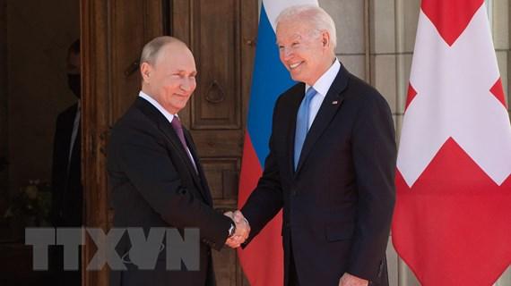 """Tổng thống Mỹ Bide tin vào """"triển vọng"""" cải thiện quan hệ với Nga"""