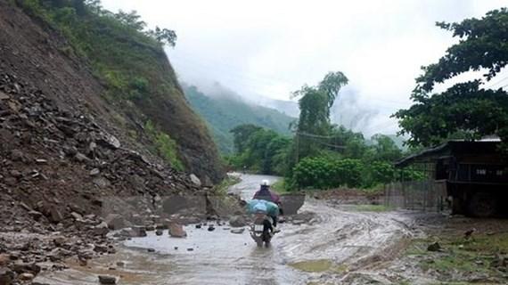 Các tỉnh vùng núi Bắc Bộ có mưa to đến rất to, nguy cơ sạt lở đất
