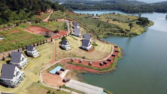 Dự án khu vực hồ Tuyền Lâm: Khó khăn trong giải quyết đền bù, giải tỏa