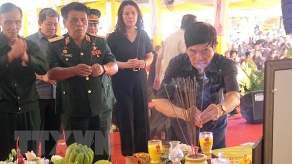 Đại lễ cầu siêu tri ân các anh hùng liệt sỹ tại tỉnh Quảng Trị